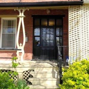 Fraser, front entrance